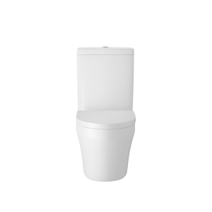 Luna Flush to Wall Close Coupled Toilet and Soft Close Toilet Seat