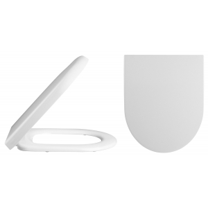 """""""Luna"""" 365mm (W) X 825mm (H) Close Coupled - Flush To Wall Toilet (Includes Soft Close Seat)"""