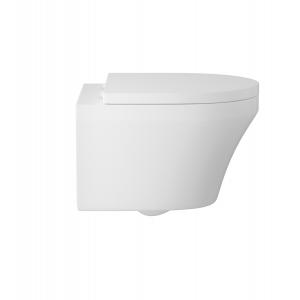 """Luna"" 355mm (W) X 400mm(H) x530mm(d) Wall Hung Toilet (Includes Soft Close Seat)"