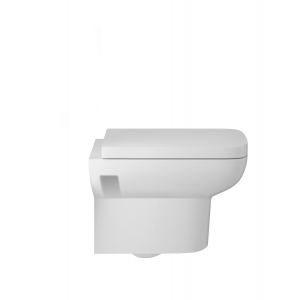 """""""Arlo"""" 350mm(W) X 360mm(H) x 525mm(d) Wall Hung Toilet (Includes Soft Close Seat)"""