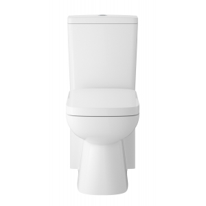 Arlo Close Coupled Toilet Pan, Cistern and Soft Close Toilet Seat