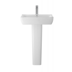 Arlo 550mm Basin with 1 Tap Hole and Full Pedestal