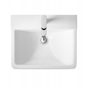 """""""Arlo"""" 550mm (w) x 445mm (w) Basin & Semi Pedestal (1 Tap Hole)"""