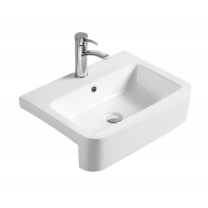 480mm Rectangular Counter Top Basin with 1 Tap Hole