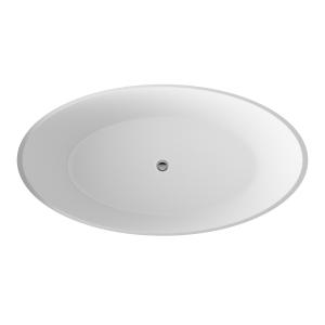 Grace Round 1510mm x 760mm Freestanding Bath