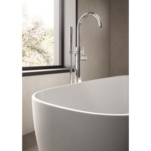 """Bella"" 1495mm(L) x 720mm(W) Rectangular Freestanding Bath (Includes Push Button Waste)"