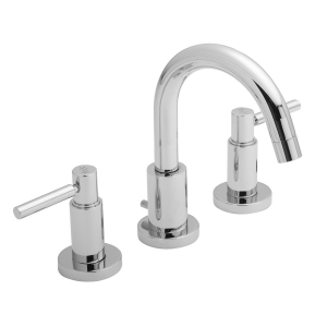 Tec Lever 3 Tap Hole Basin Mixer with Pop up Waste