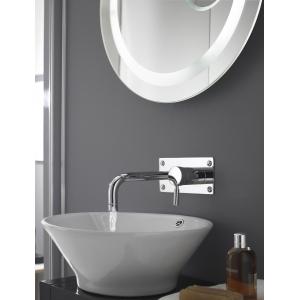 Round Wall Hung Basin/Bath Filler