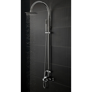 Dual Exposed Thermostatic Shower Valve