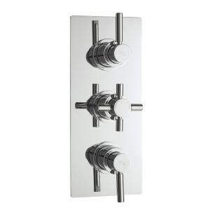 Tec Pura Plus Triple Thermostatic Valve Diverter