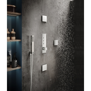 Ignite Square Shower Valve with 3 Outlets