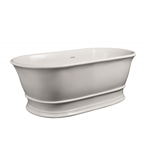 """""""Faringdon"""" 1555mm(L) x 740mm(W) Traditional Freestanding Double Ended Bath (Includes Push Button Waste)"""