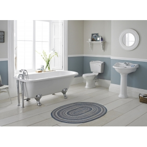 """""""Chancery"""" 500mm(W) x 845mm(H) Close Coupled Toilet"""