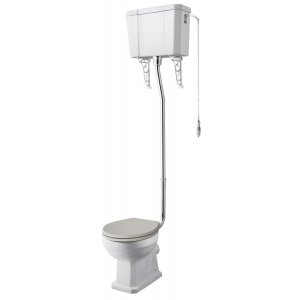 Richmond High Level Toilet and Flush Pipe Kit
