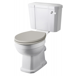 Comfort Height Close Coupled Toilet Pan & Cistern