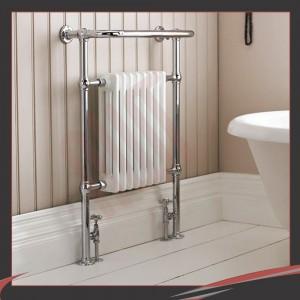 673mm (w) x 963mm (h) Old Colwyn Traditional Towel Rail