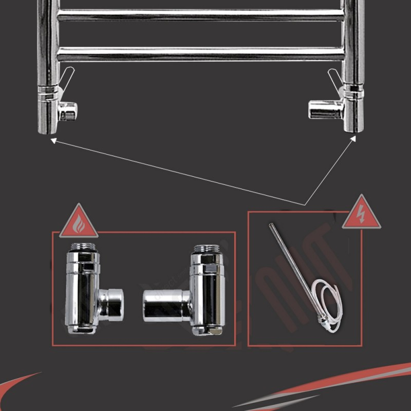 Dual Fuel Valve Kit (500 Watt RICA PTC Element)