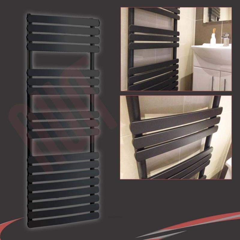 500mm (w) x 1200mm (h) Castell Chrome Heated Towel Rail
