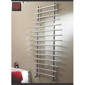 700mm (w) x 1200mm (h) Electric Barmouth Chrome Towel Rail (Single Heat or Thermostatic Option)