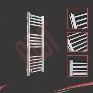 "300mm (w) x 800mm (h) ""Straight Chrome"" Towel Rail"