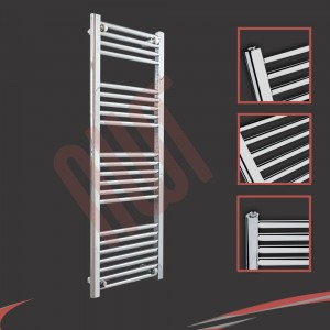 "400mm (w) x 1200mm (h) ""Straight Chrome"" Towel Rail"