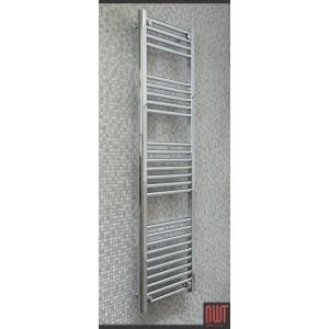 400mm  x 1400mm Straight Chrome Towel Rail