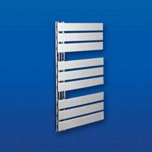 500mm (w) x 800mm (h) Apollo Electric Chrome Designer Towel Rail (Single Heat or Thermostatic Option)