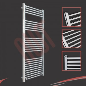 "500mm (w) x 1400mm (h) ""Straight Chrome"" Towel Rail"