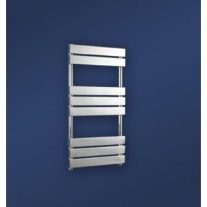 500mm (w) x 950mm (h) Vega Electric Chrome Designer Towel Rail (Single Heat or Thermostatic Option)