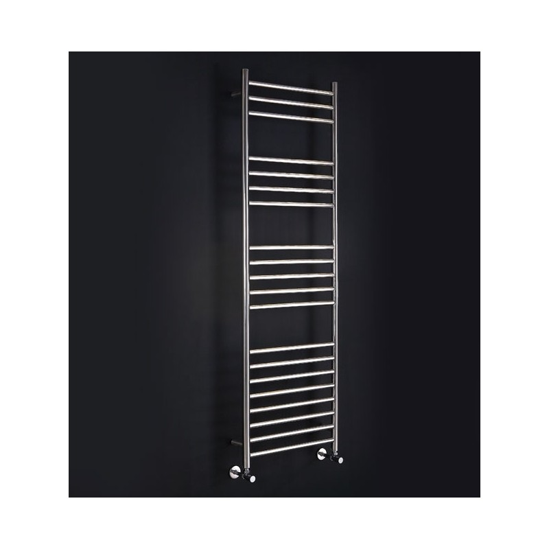 600mm (w) x 1600mm (h) Electric Stainless Steel Towel Rail (Single Heat or Thermostatic Option)