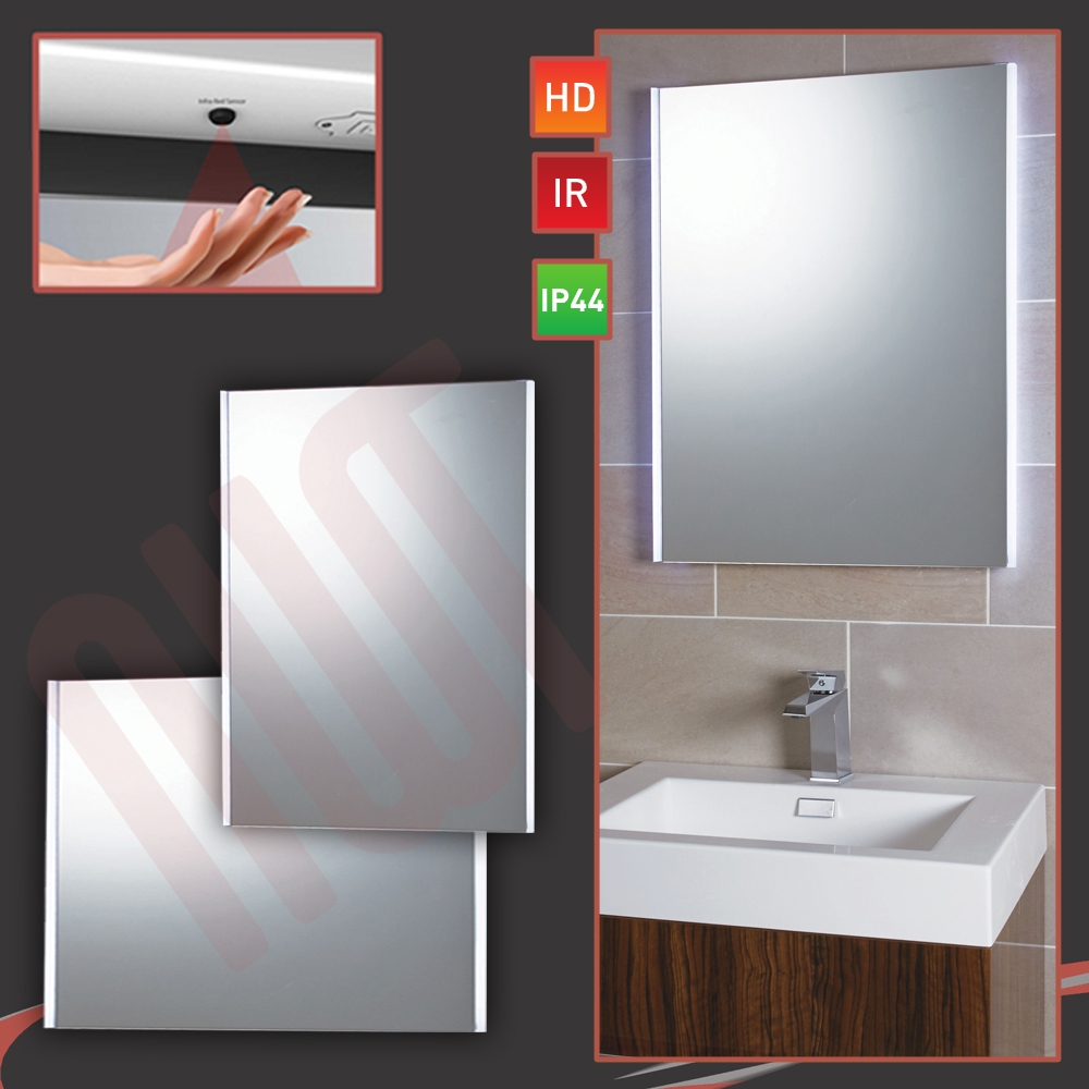 Designer Side Lit LED Bathroom Mirror