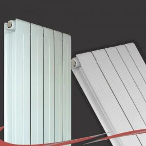 318mm (w) x 1800mm (h) Vesuvius White Radiator (Aluminium)