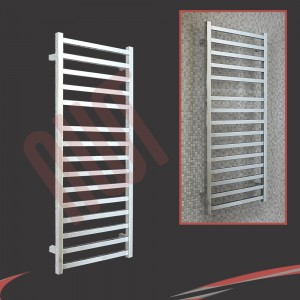 500mm x 1165mm Denbigh Chrome Towel Rail