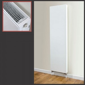 "500mm (w) x 1600mm (h) ""Vulcan"" Double Panel Radiator"