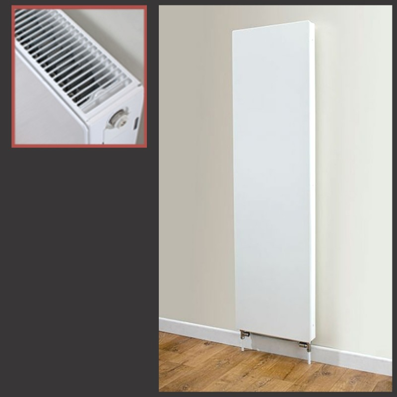 500mm x 1800mm Vulcan Double Panel Radiator