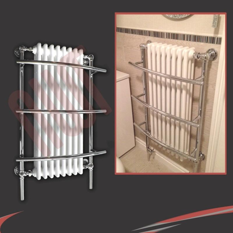 635mm x 1000mm Tranmere Traditional Towel Rail