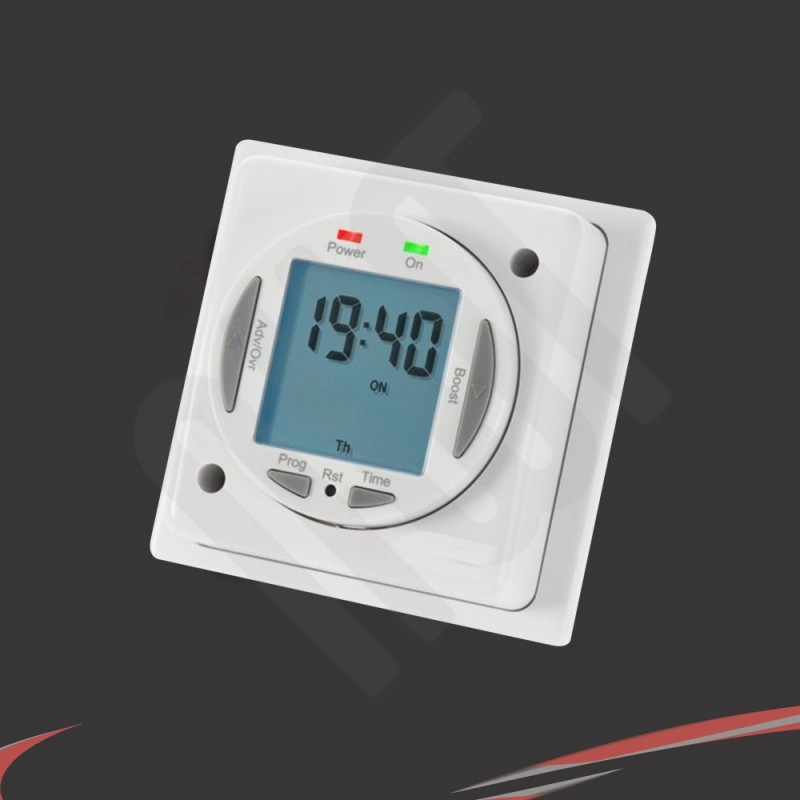 Digital 7 Day Quot On Off Quot Timer For Electric Towel Rails