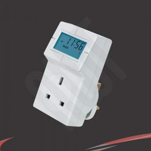 Plug-In Electronic Thermostat and 24hr Timer