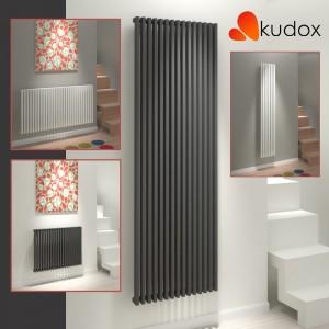 "Kudox ""Xylo"" Horizontal & Vertical Designer Radiators - White or Anthracite (8 Sizes)"