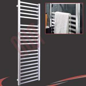 500mm (w) x 1700mm (h) Denbigh Chrome Towel Rail