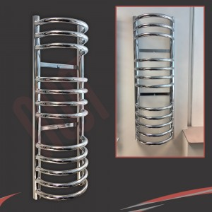 300mm x 900mm Buckley Chrome Towel Rail