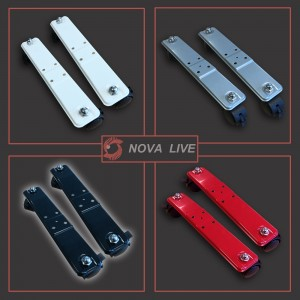 """Nova Live R"" Feet with wheels for All Colour & Size Panel Convector Heaters (Pair)"