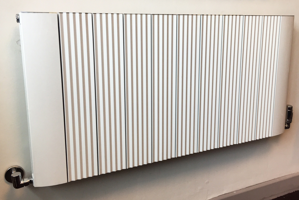 White Aluminium Panel : Mm w mm h cariad aluminium white radiator