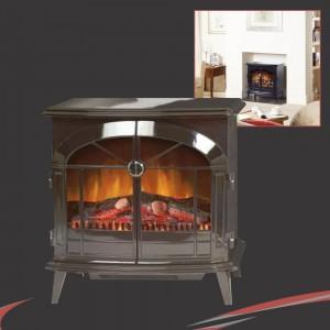Dimplex Stockbridge Stove Coal/Logs Remote Control Electric Fire