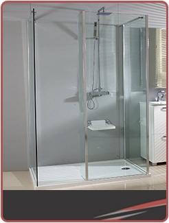 Single Wall Shower Enclosures