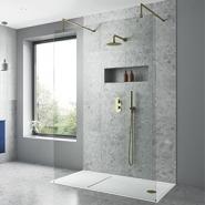 Single Wall (Panoramic) Shower Enclosures