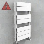 Designer White Electric Towel Rails