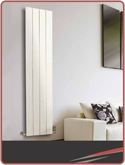 Vertical Coloured Radiators