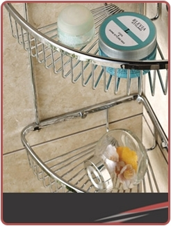 Wire Shower Baskets