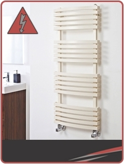 Designer Coloured Electric Towel Rails